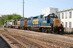 CSX 2705, 6362, and 6357