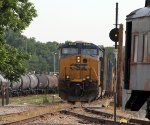 CSX 840 is sole power for train F741