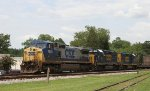 CSX 7826 leads train F941 southbound