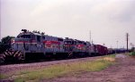 CSX 1810, 2700, and 1808 lead a southbound train