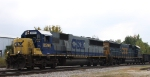 CSX 8596 leads train F742 northbound