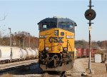 CSX 790 sits outside the yard office on Thanksgiving day