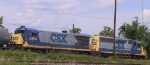 CSX 5904 & 6357 are working