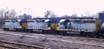 A trio of 61xx series GP40-2 sit in the yard