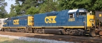 CSX 2355 & 6955 are power for F729
