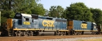 CSX 6955 & 2355 are power for train F729
