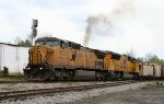 UP 9501 & 3798 lead CSX train F742 northbound
