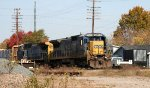 CSX 7646 leads train F741 southbound
