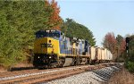 CSX 7357 & 7888 lead train F741 southbound