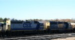 CSX 6039 & 6359 ait in the yard
