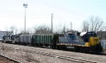 CSX 2750 sits with a couple of other units