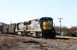 CSX 7584 & 7602 lead train F742-14 past the fairgrounds