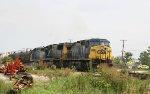 CSX 246 leads train F741-30 past the Fairgrounds