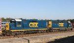 CSX 2230 & 6457 are power for train F735-17