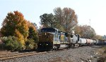 CSX 7755 leads train F741-16 southbound