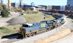 CSX 5476 & 5453 lead train F741-16 southbound