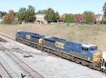 CSX 5476 & 5453 lead train F741-16