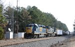 CSX 6147 & 7766 lead train F741-19 southbound at mp S162.2