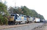 CSX 6147 & 7766 lead a short train F741-19 southbound