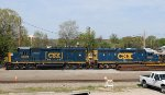CSX 6559 & 6037 sit at the south end of the yard