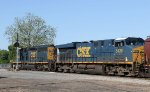 CSX 4066 & 5436 will lead train F741-28 southbound shortly