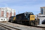 CSX 8817 & 8251 lead train F741-26 at Southern Junction