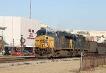 CSX 5452 leads train Q409-03 southbound