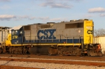 CSX 2791 leads train Y201-04 back to the yard late in the afternoon