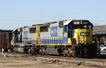 CSX 8552 & 8622 lead train W086-02 northbound