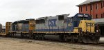 CSX 8571 & 8085 lead train F774 northbound