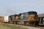 CSX 5259 leads train L740 northbound