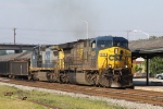 CSX 630 & 7683 lead train F774 northbound