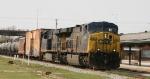CSX 684 leads train Q406 northbound