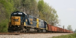 CSX 2481 & 2463 are on the lead of a work train