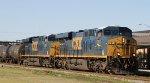 CSX 761 & 5447 lead train Q406-06 northbound