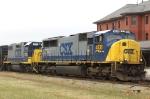 CSX 4538 & 2723 lead train F782-10 northbound
