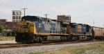 CSX 251 & 5114 lead train G927 northbound