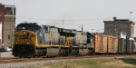 CSX 625 & 603 lead train Q410 northbound
