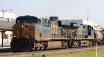 CSX 5224 & 5490 lead train Q415 southbound