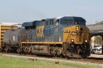 CSX 707 is the sole power for train Q406-17