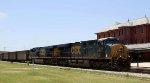 CSX 908 leads an empty coal train northbound