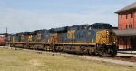 CSX 769 leads train Q400-02 northbound