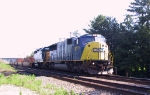 CSX 8777 & 6355 lead an intermodal train southbound