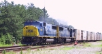 CSX 8734 & 730 lead train K650 northbound