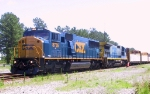 CSX 8736 & 7540 lead a local out of North Collier Yard