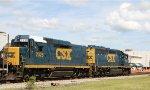 CSX 6927 & 2326 lead train Y122-14 northbound