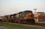 CSX 575 & 5349  lead a northbound train