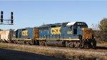 CSX 6942 & 2305 lead train Y122-21