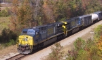 CSX 684 & 648 lead a train southbound