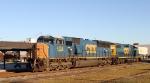 CSX 4758 & 2723 lead train F781-11 southbound